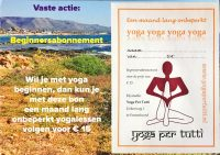 studio yoga per tutti emmeloord beginnersabonnement